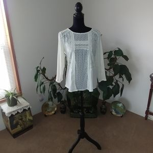 NWOT Cream colored Top